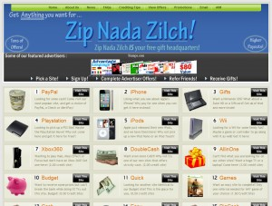 Is Zip Nada Zilch a legitimate company or a scam?