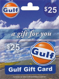 Gulf Gas Card Giveaway