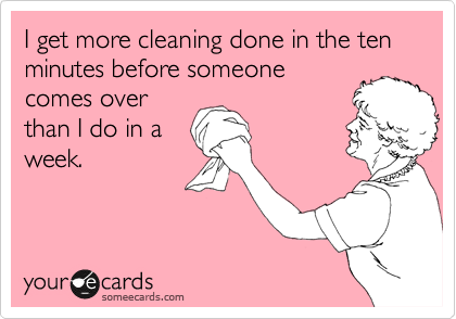 4 Day Cleaning Challenge