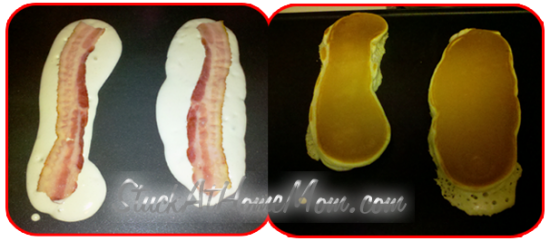 Delicious Bisquick Bacon Pancakes2