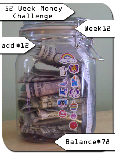 The 52 Week Money Challenge – you game? [Week 12]