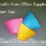 Crafts from Office Supplies &#8211; Paper Cups #theoffice #officesupplies #crafts