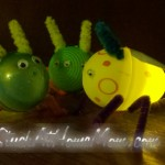 Easter Egg Lightening Bugs #craft #easter