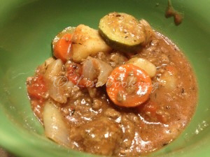 Ground Beef Stew Recipe #recipe #sundaysupper #fridaydinner