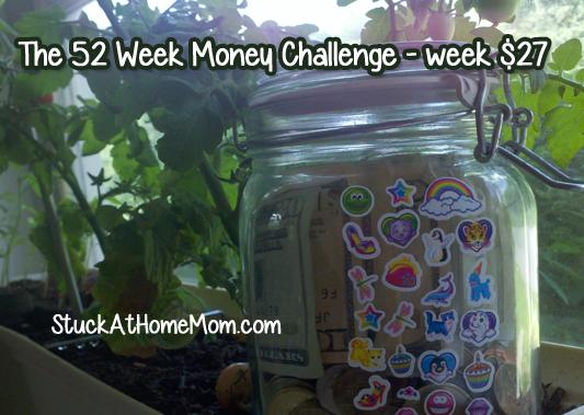 The 52 Week Money Challenge - week $27