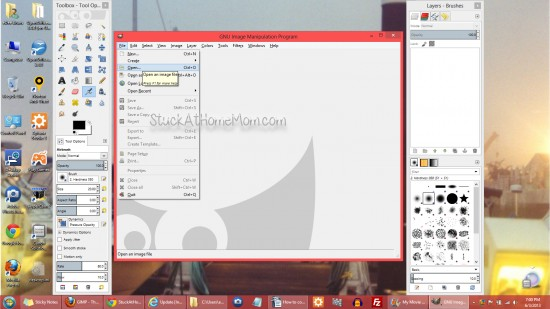 How to convert a PDF to JPG PNG PSD many file types