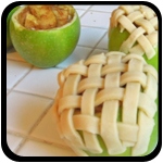APPLE PIE BAKED IN APPLE