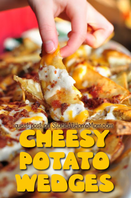 Cheesy Potato Wedges