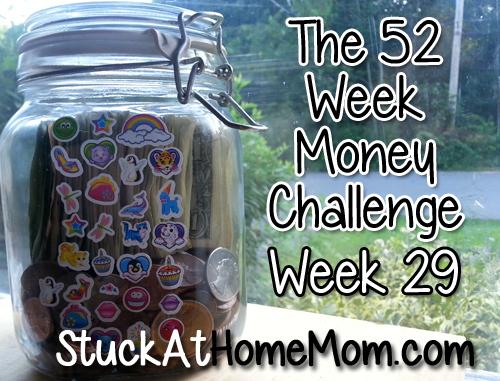 The 52 Week Money Challenge – Week 29 #52weekmoneychallenge