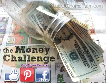 The Money Challenge with Printable Chart [Save $1,378.00] Week 35