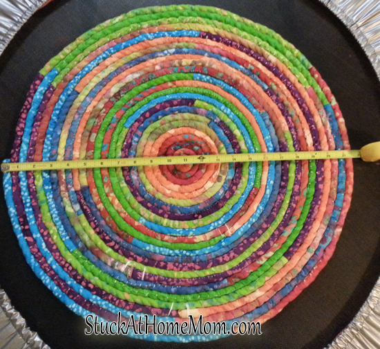 How To Make A Fabric Rope Rug Diy Rope Rug Diy