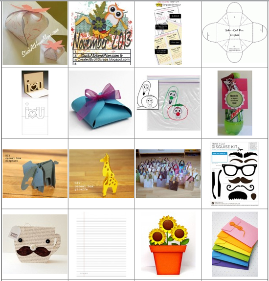 Free Craft Projects & Printables