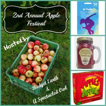 The 2nd Annual Apple Festival Giveaway #giveaway #iTunes
