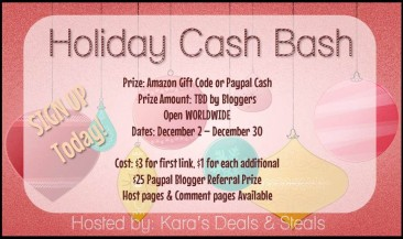 Holiday Cash Bash Opp!!
