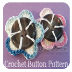 Crochet Button Pattern