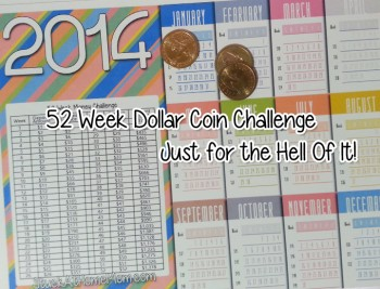 52 Week Dollar Challenge Week 2