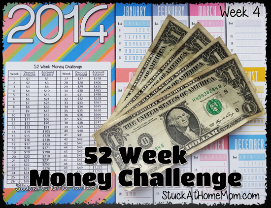 52 Week Money Challenge Week 4 #52weekmoneychallenge