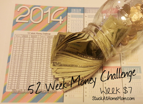 52 Week Money Challenge Week 7