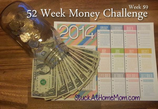 52 Week Money Challenge Week 9 #52weekmoneychallenge