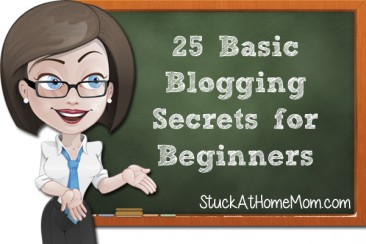 25 Basic Blogging Secrets for Beginners (plus some extras)