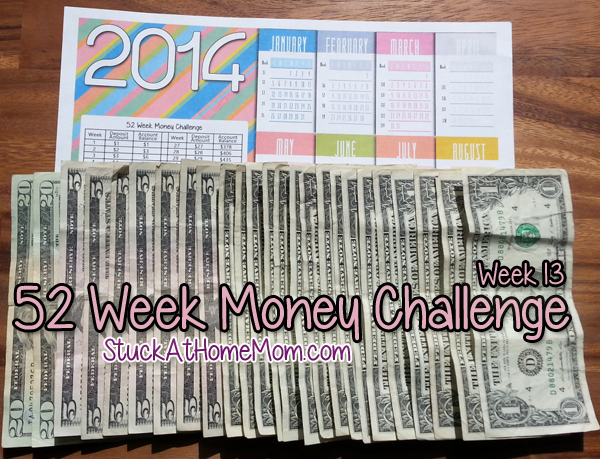 52 Week Money Challenge Week 13 #52weekmoneychallenge
