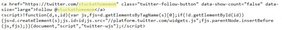 Twitter Giveaway Code