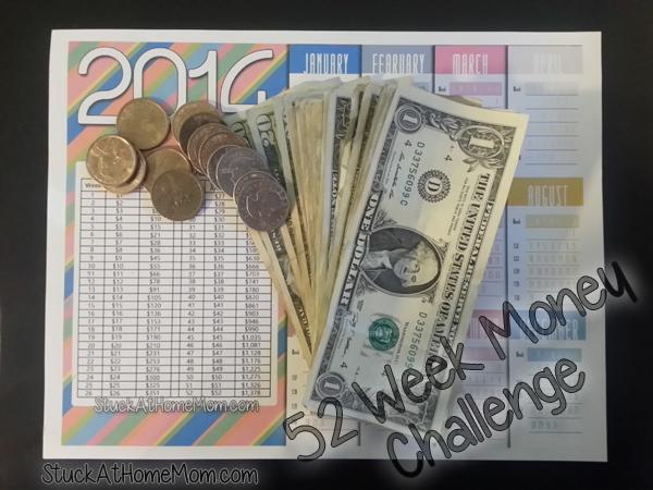 52 week money challenge week 17
