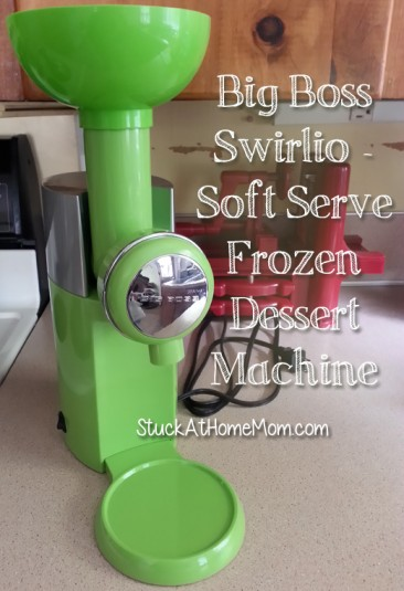 Big Boss Swirlio – Soft Serve Frozen Dessert Machine #Swirlio