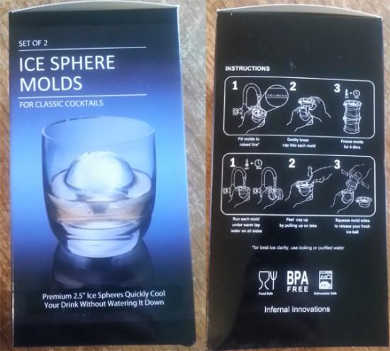 Ice Sphere Molds