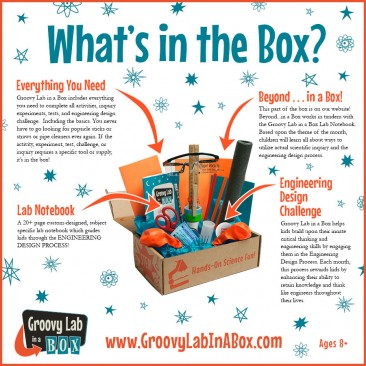 Groovy Lab in a Box Giveaway!!! #STEMists