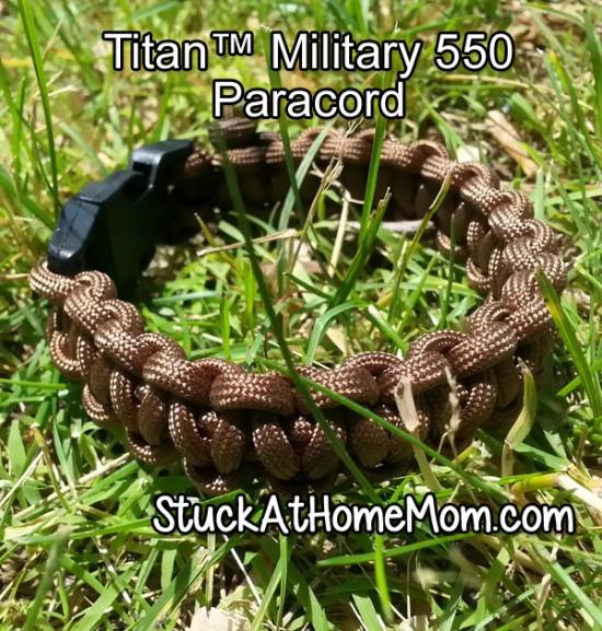 Titan Military 550 Paracord