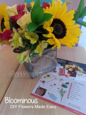 Bloominous DIY Flowers Made Easy #bloominous
