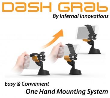 DASH GRAB Universal Phone Mount #dashgrab