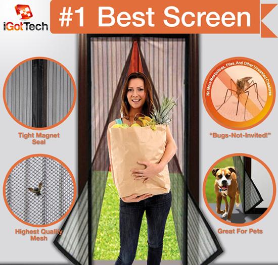 Magnetic Screen Door #magneticscreendoor