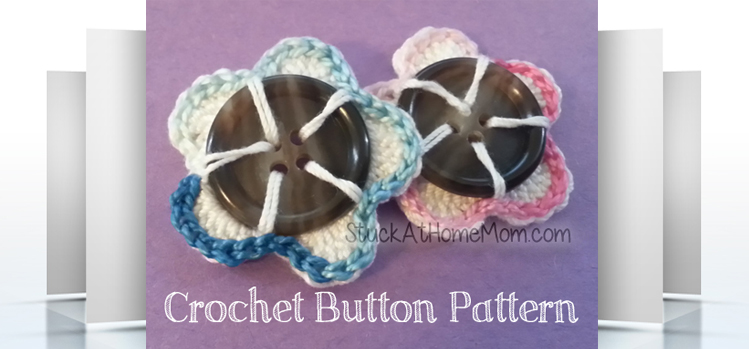 Crochet Button Pattern crochet pattern