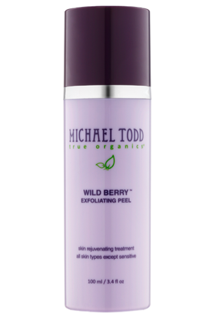 Wild Berry Skin Peel Review and Giveaway #activeorganicskincare