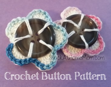 Crochet Buttons Pattern with Pictures #crochet #pattern