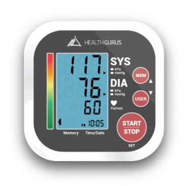 Health Gurus Upper Arm Blood Pressure Monitor w/ Coupon Code #greatergoods
