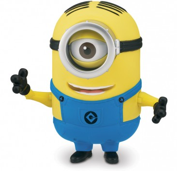 """Despicable Me™ """"Bee-Do"""" Fireman Minion Stuart from Thinkway Toys"""