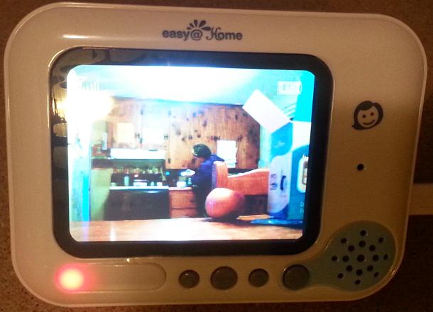easy home ehb256 digital video baby monitor. Black Bedroom Furniture Sets. Home Design Ideas