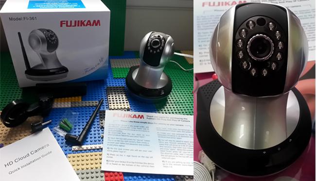 FUJIKAM Security Camera HD
