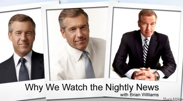 Why We Watch the Nightly News with Brian Williams #BrianWilliams @BWilliams