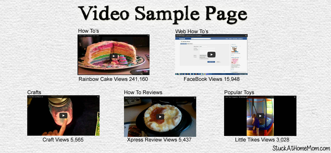 Video Sample Page