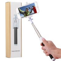 Bluetooth Selfie Stick, iRAG with 20 Hours Battery Life for iPhone, Android and All Other Smartphones