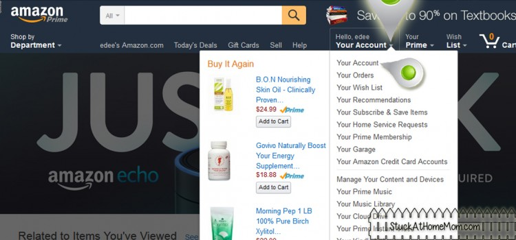 How to Find Your Amazon Profile Link to Give Sponsors