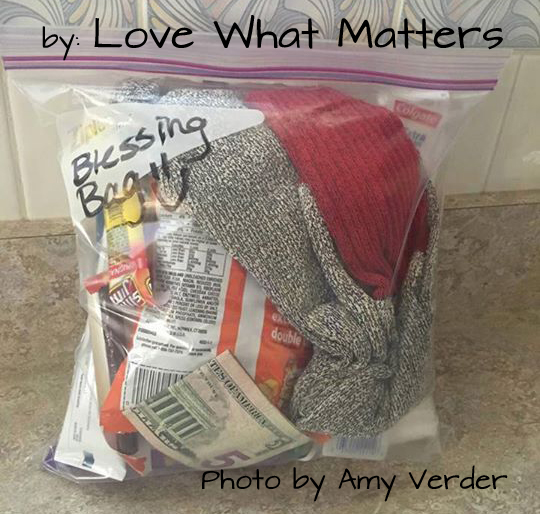 Blessing Bag by Amy Verder