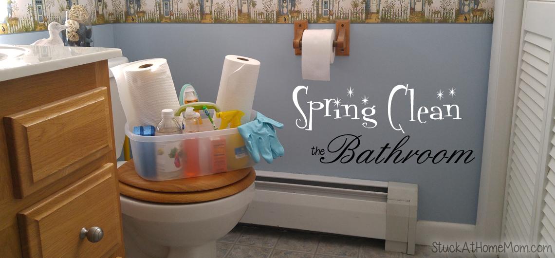 Spring Clean the Bathroom Kimberly Clark