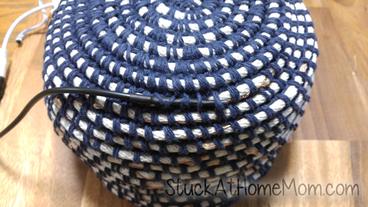HOW TO Crochet a Rope Basket - an Actual Tutorial with Pictures in English