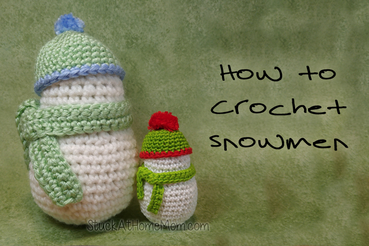How to Crochet a Snowman