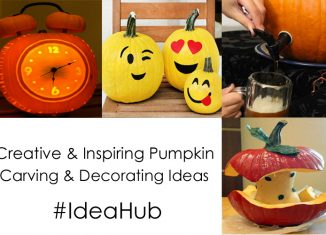 Creative and Inspiring Pumpkin Carving and Decorating Ideas #IdeaHub